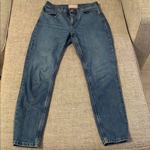 Everlane high rise ancle jeans
